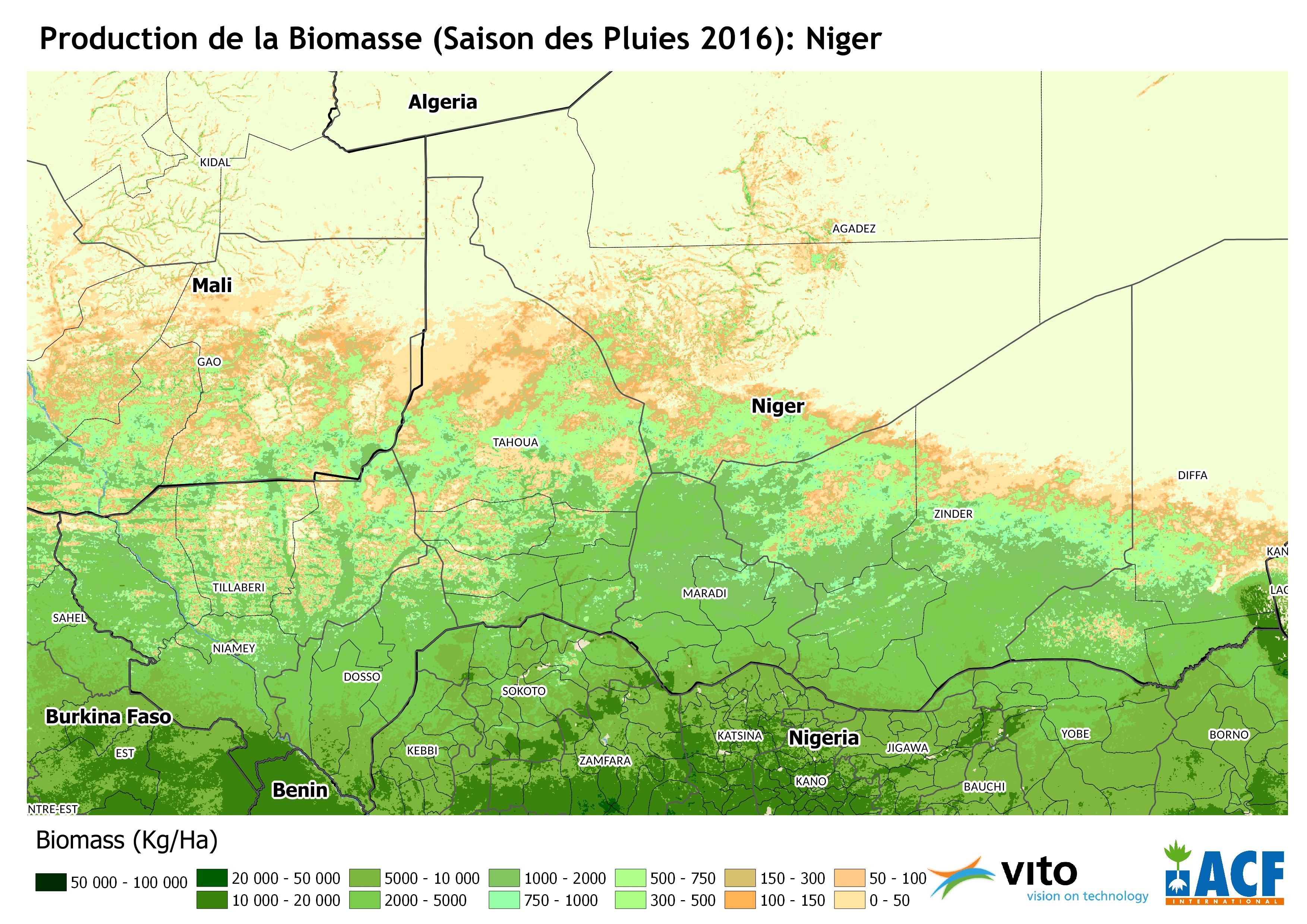 Production de la Biomasse 2016
