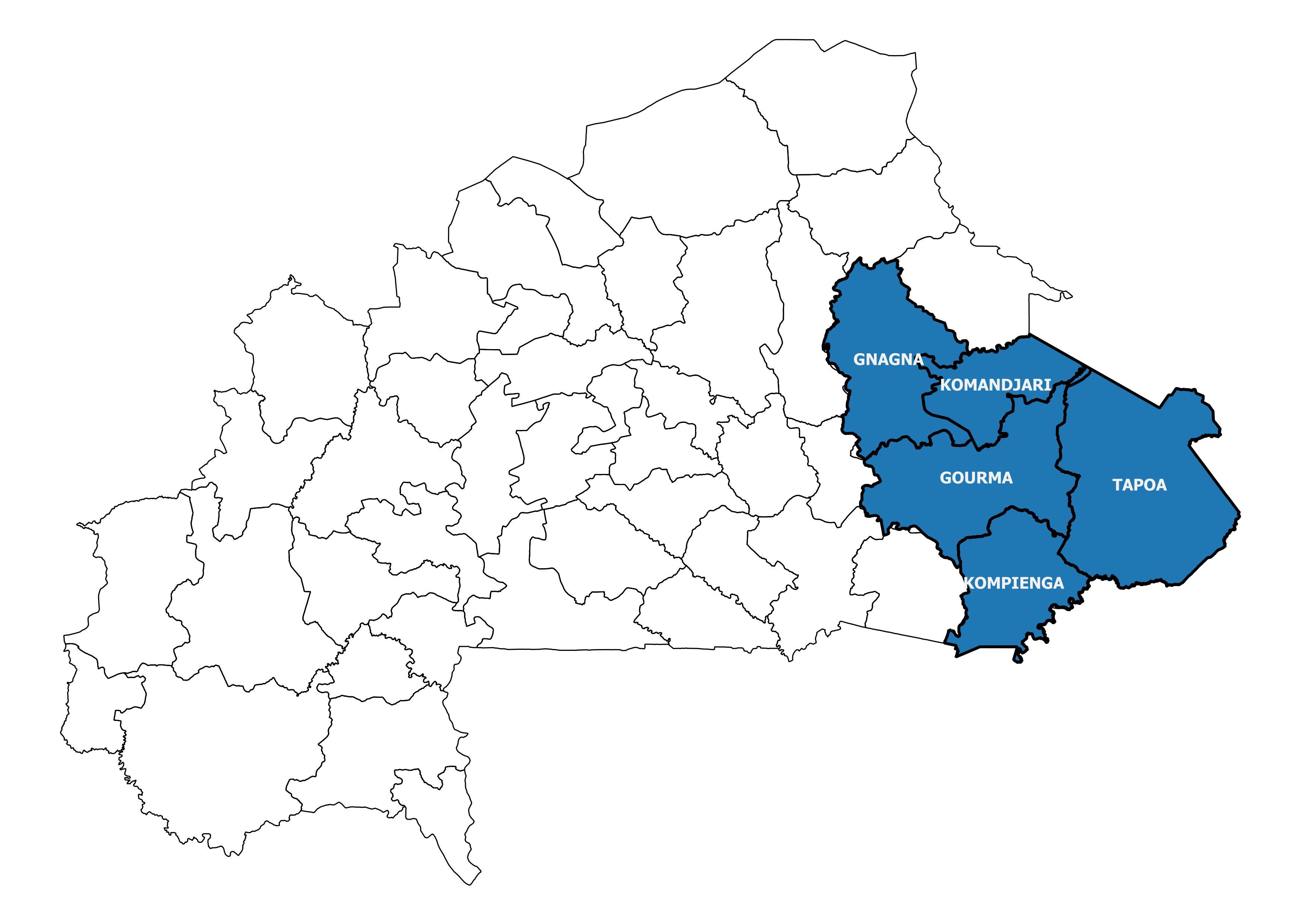 Region EST BF