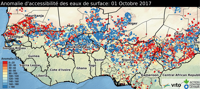 Anomalie d'accessibilité des eaux de surface 2017
