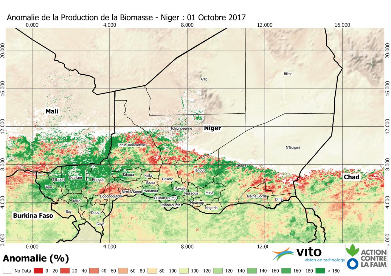 Anomalie Niger 2017