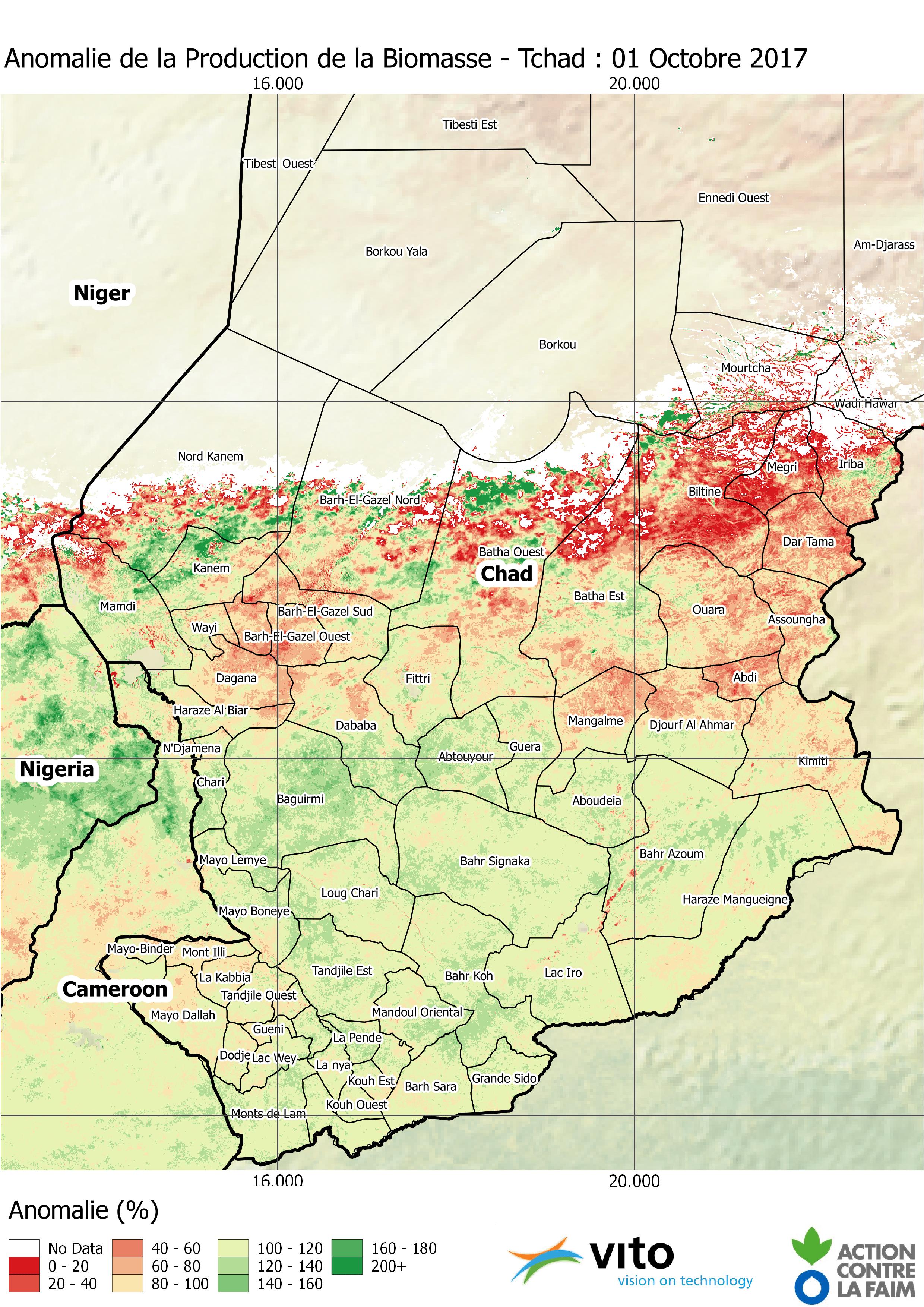 Anomalie Tchad 2017