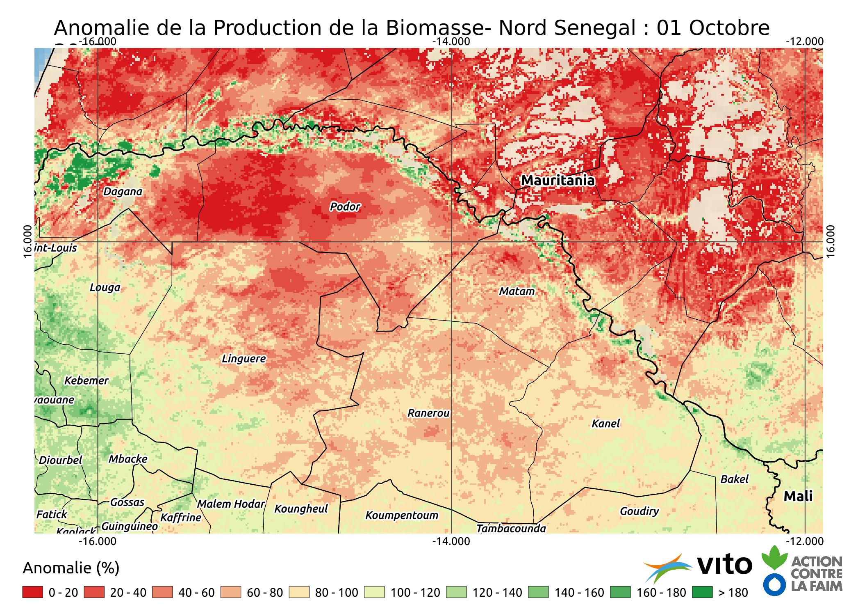 Anomalie- Nord Senegal 2017