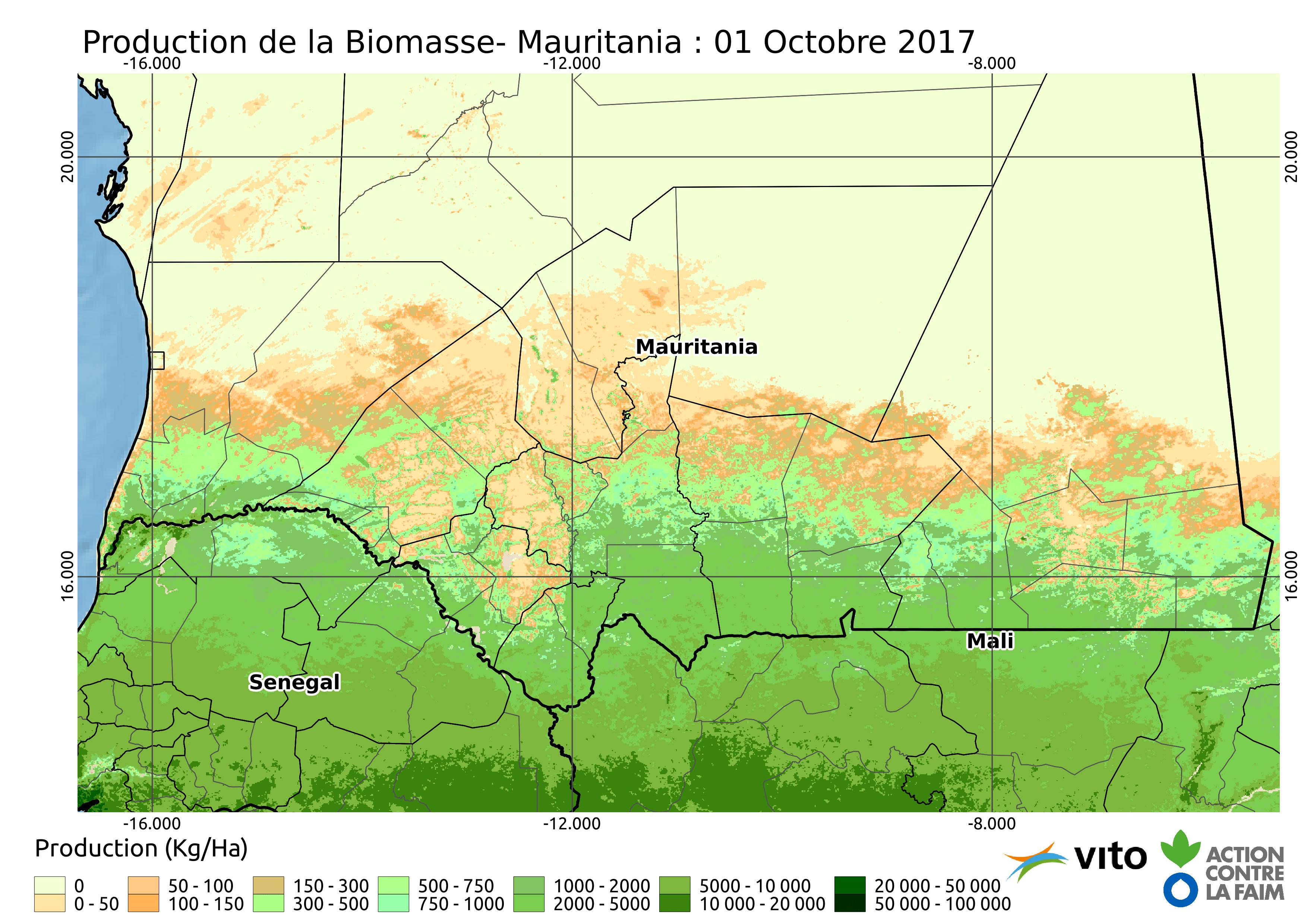 Production Mauritanie 2017