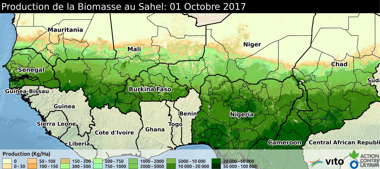 Production Sahel 2017