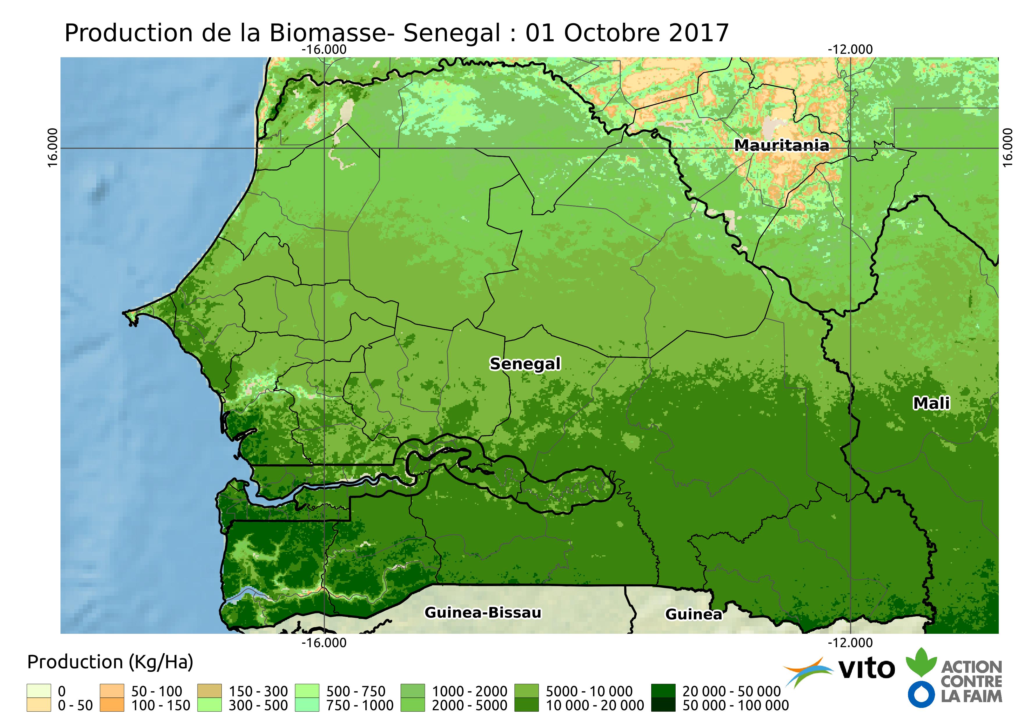 Production Senegal 2017