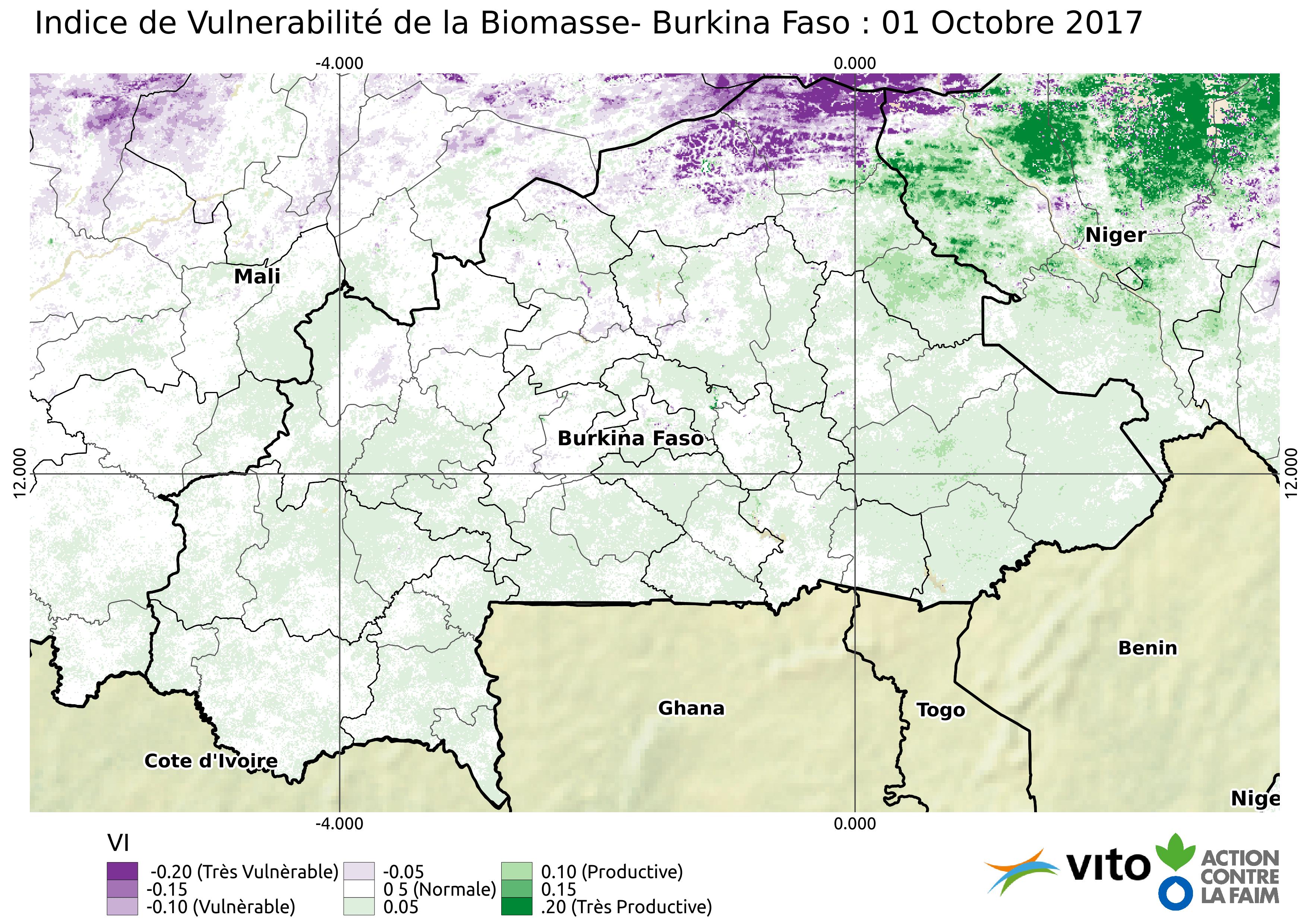 Indice de Vulnerabilité Burkina Faso 2017