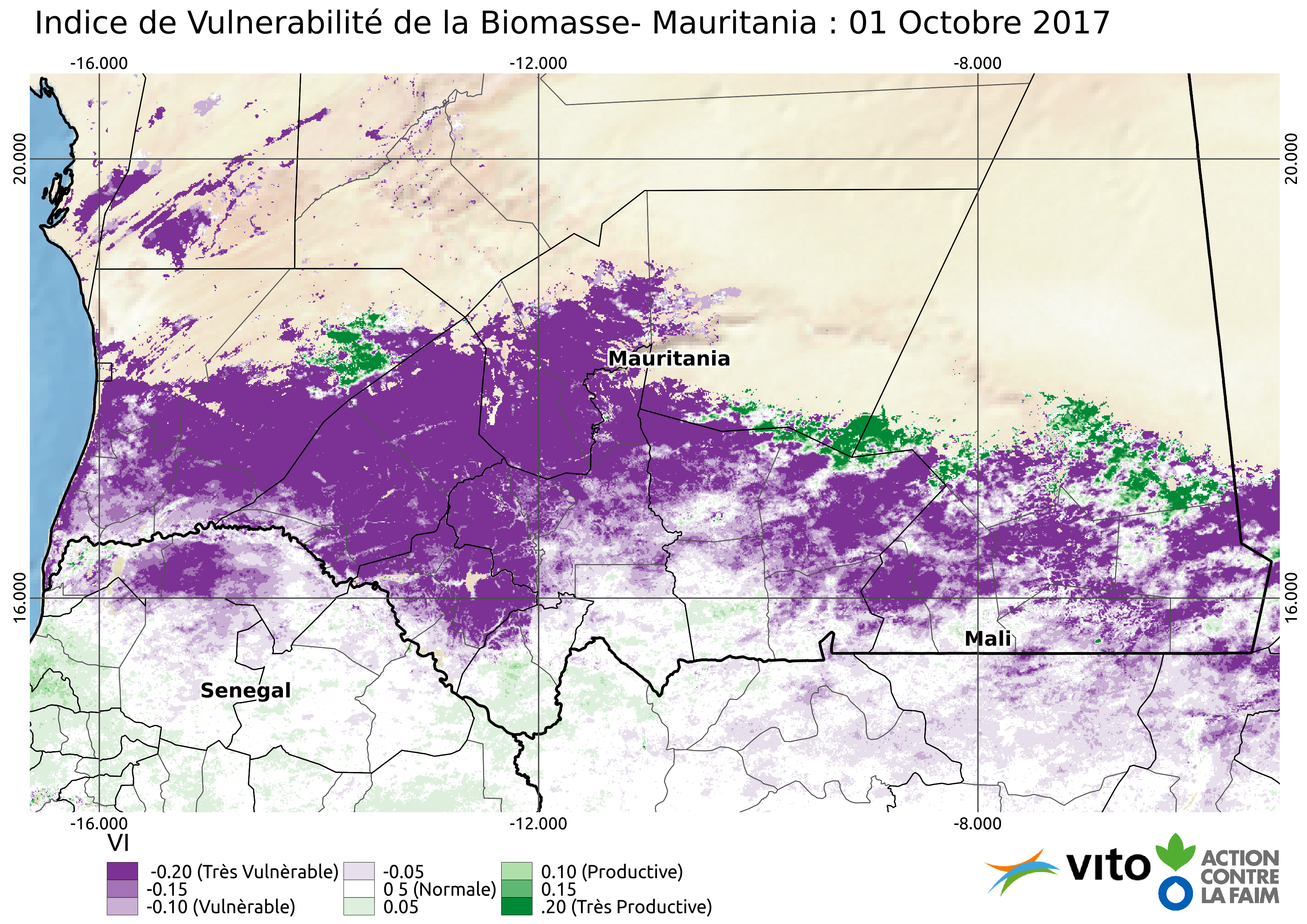 Indice de Vulnerabilité Mauritanie 2017