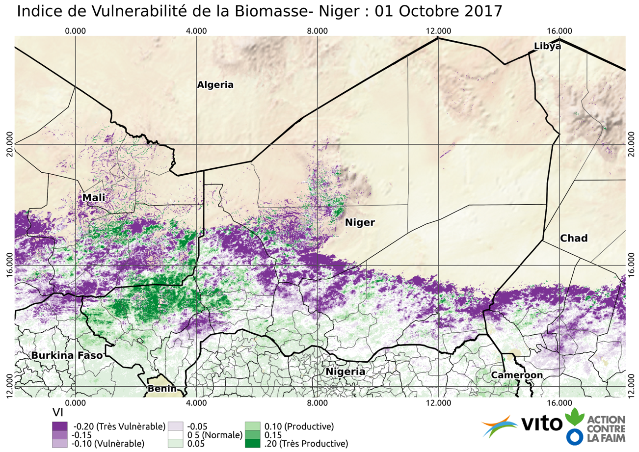 Indice de Vulnerabilité Niger 2017