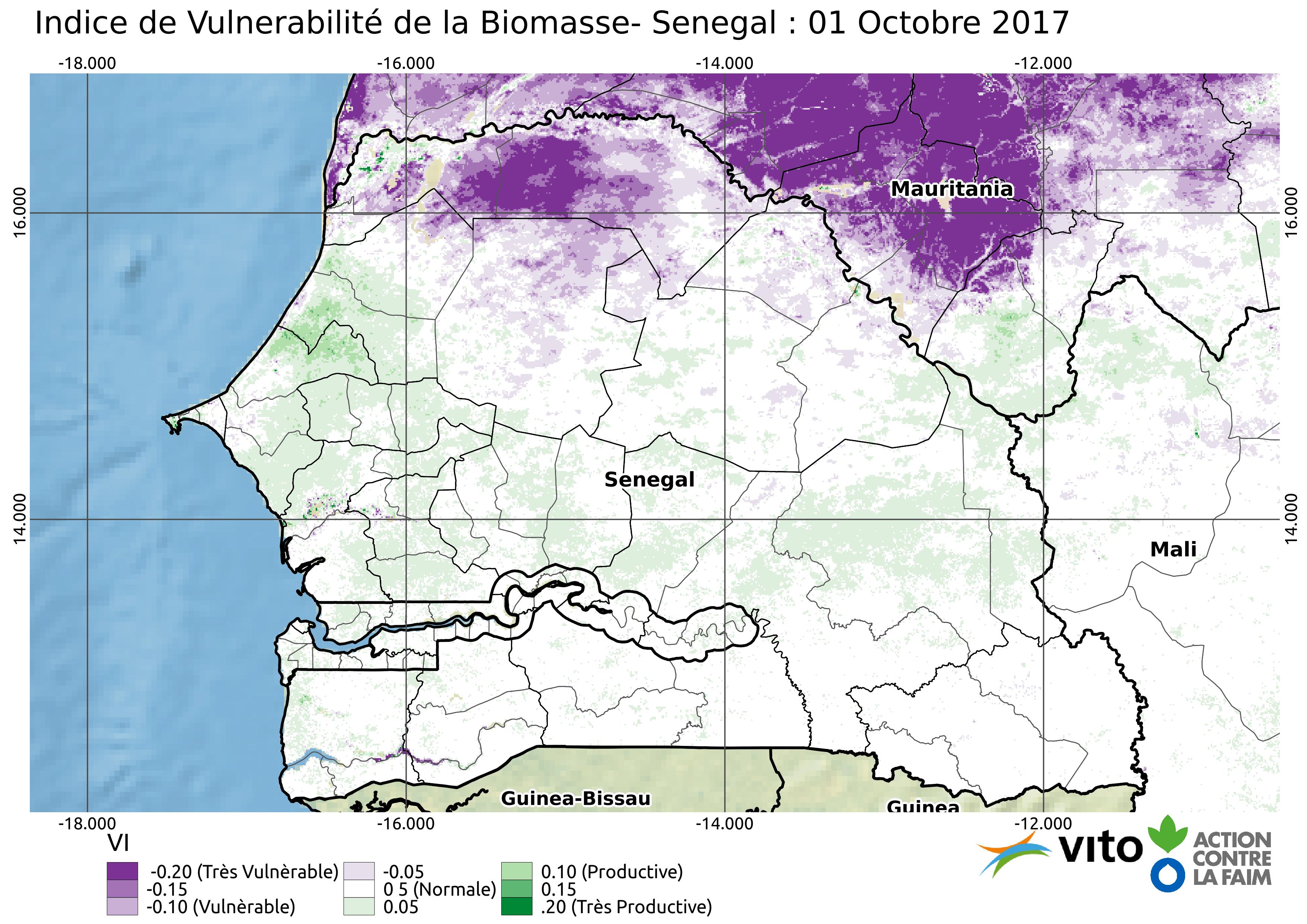 Indice de Vulnerabilité Senegal 2017